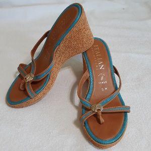 Italian Shoemakers size 5M wedges
